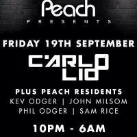 Peach presents Carlo Lio