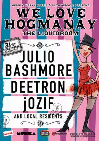 We Love joins the Hogmanay Celebrations in Edinburgh with Julio Bashmore