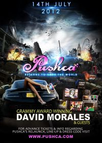 David Morales headlines Pushca at Village Underground