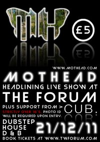 Mothead - Live show at Tunbridge Wells Forum