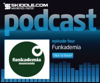 Episode 4 of the Skiddle Podcast now available, with guestmix from Funkademia!