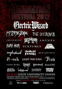 Review: Damnation Festival 2012