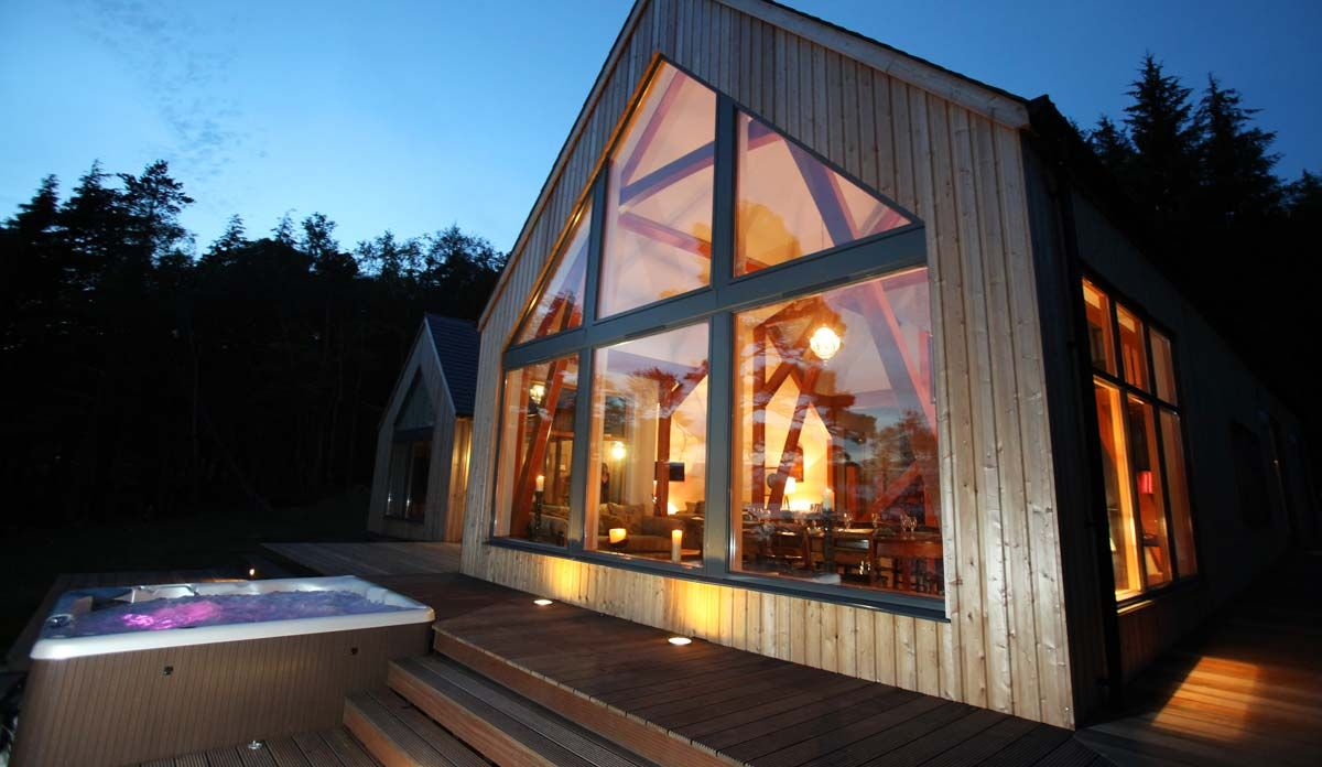 Skiddle 39 s guide to luxury accommodation in scotland for Luxury accommodation