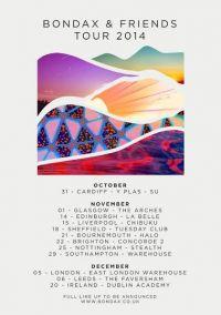 Bondax and Friends UK Club Tour