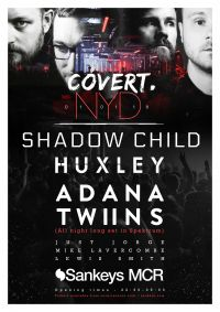 Covert New Years Day event line up now revealed!