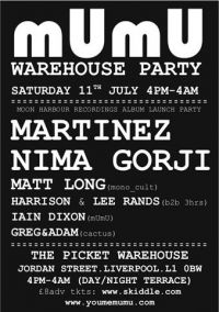 Mumu... [12 Hour Warehouse/terrace PARTY]