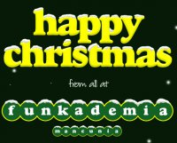Happy Christmas from Funkademia