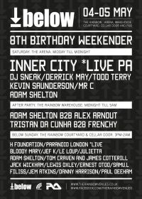 Inner City headline Below 8th Birthday Weekender 