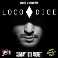 Loco Dice reveals line up of August X at Space Ibiza