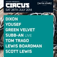 Review: Yousef presents Circus, Liverpool July 26th