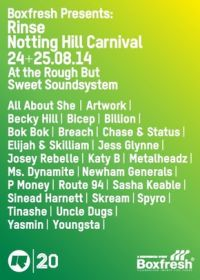 Boxfresh presents: Rinse Notting Hill Carnival