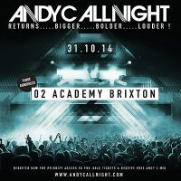 Win! Tickets to see Andy C at Brixton Academy