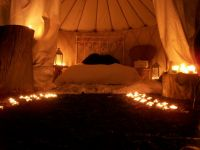 Luxury yurts now available at Wickerman