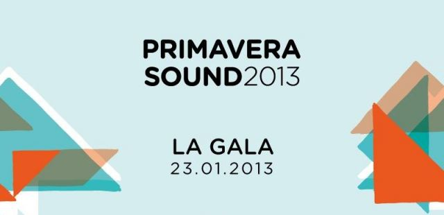 Primavera 2013 line-up announced