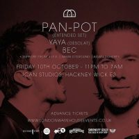 Win! Tickets to see Pan-Pot at ICAN Studios